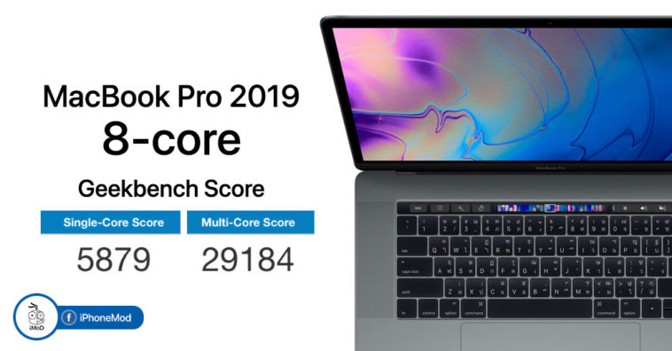 Macbook Pro 2019 8 Core Geekbench Score