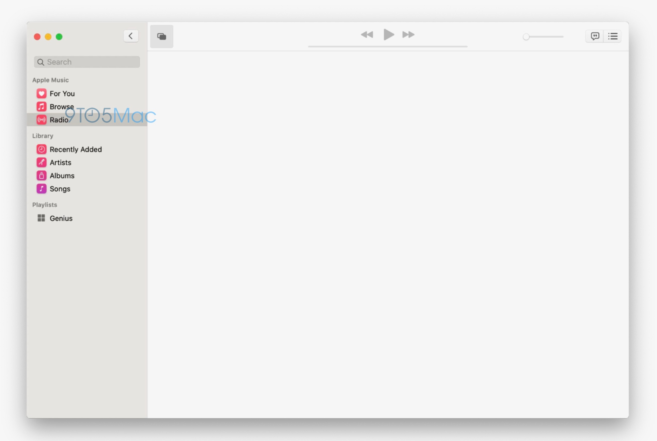 Music App Tv App Macos 10 15 Screenshot Leaks Img 1