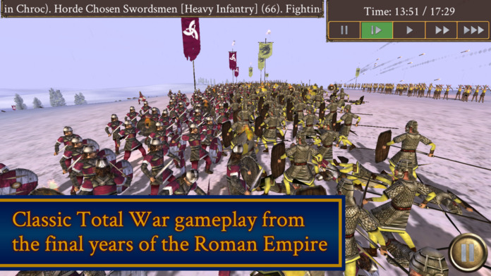 Rome Total War Barbarian Invasion Release For Iphone 1