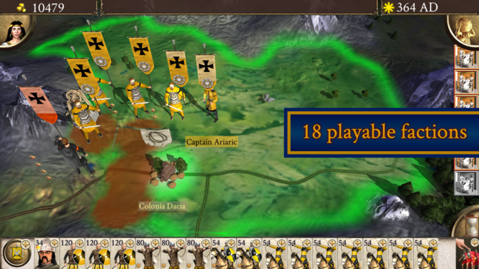 Rome Total War Barbarian Invasion Release For Iphone 2