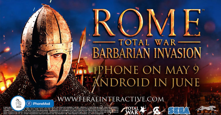 Rome Total War Barbarian Invasion Release For Iphone