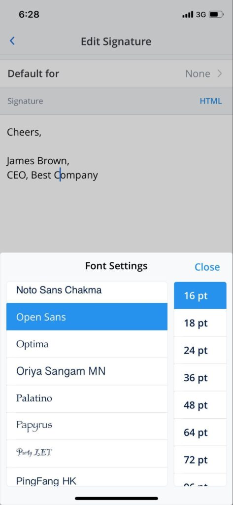 Spark For Ios And Macos Update Font Style Tool 1