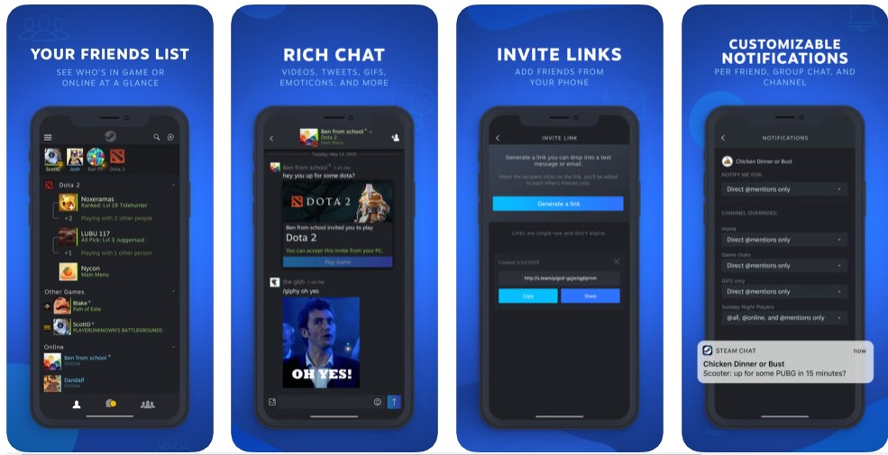 Steam Chat Release For Ios Android 1