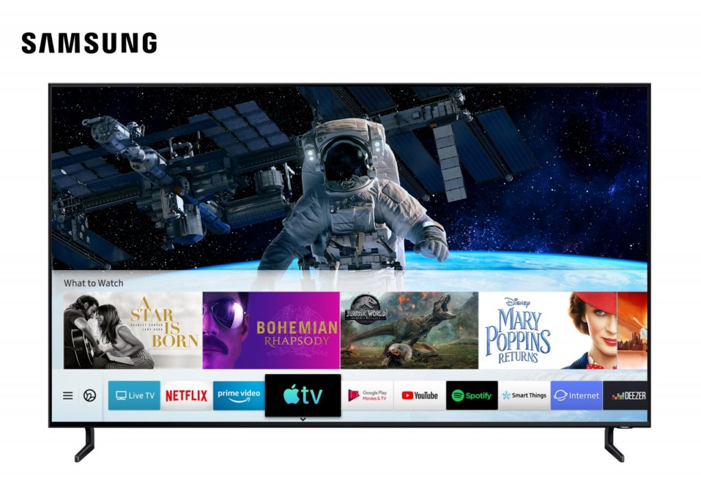 Sumsung Smart Tv Annouce Update Firmware Suppor Tapple Tv App And Airplay2 1