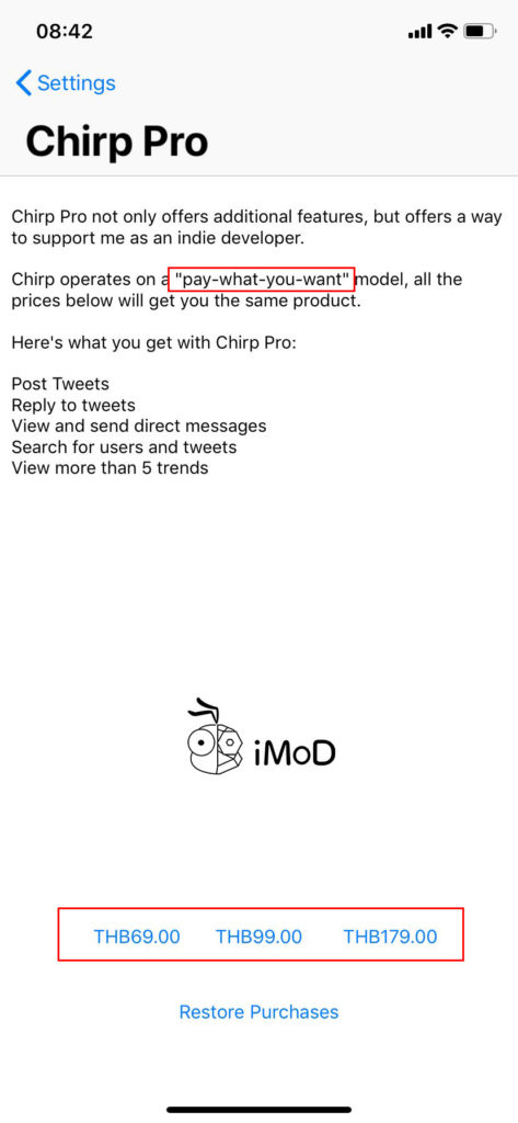 Twitter On Apple Watch By Chirp 5