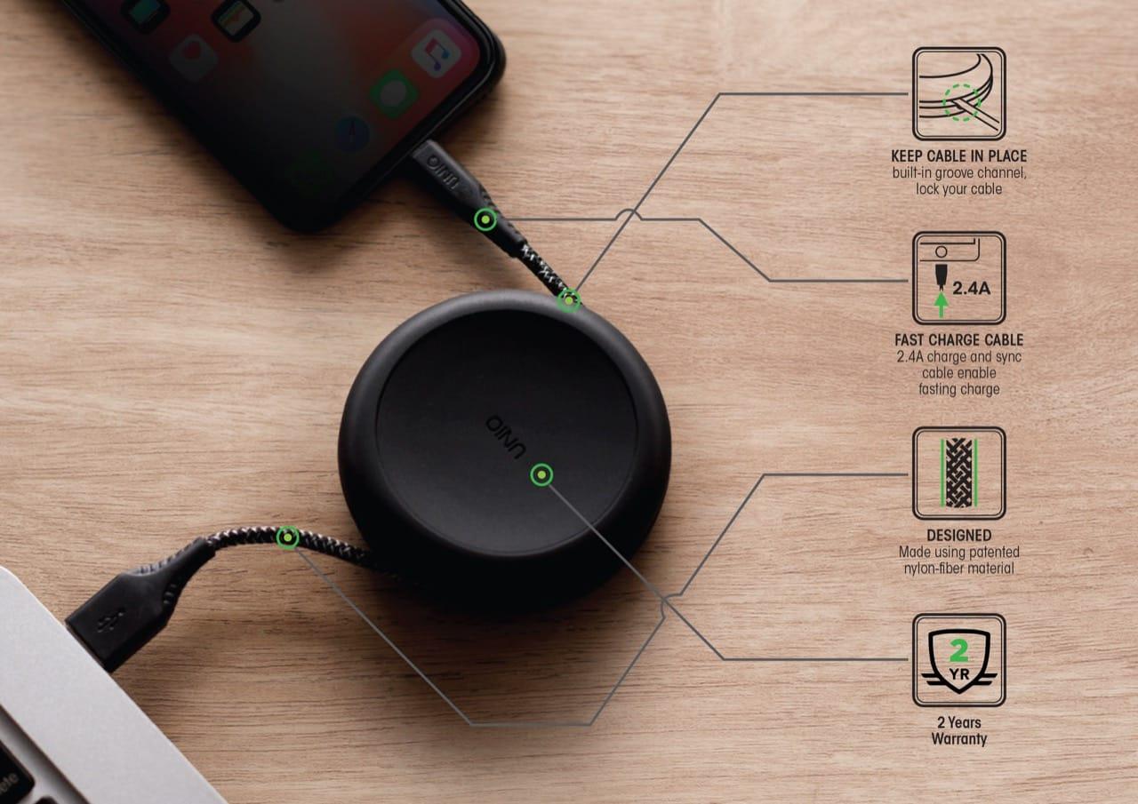 Uniq Flex And Halo Lightning Cable 3