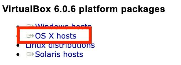Virtualbox Os X Hosts Download