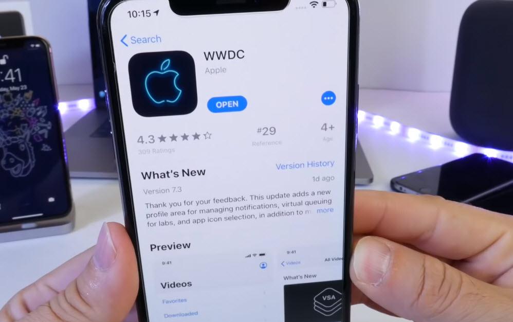 Wwdc App Spot Dark Mode In Ios 13 Img 1