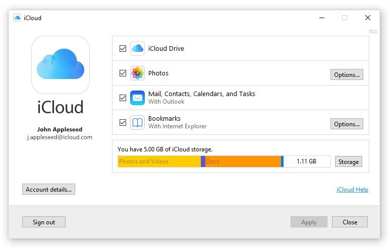 Apple Released Icloud For Microsoft Store Img 1