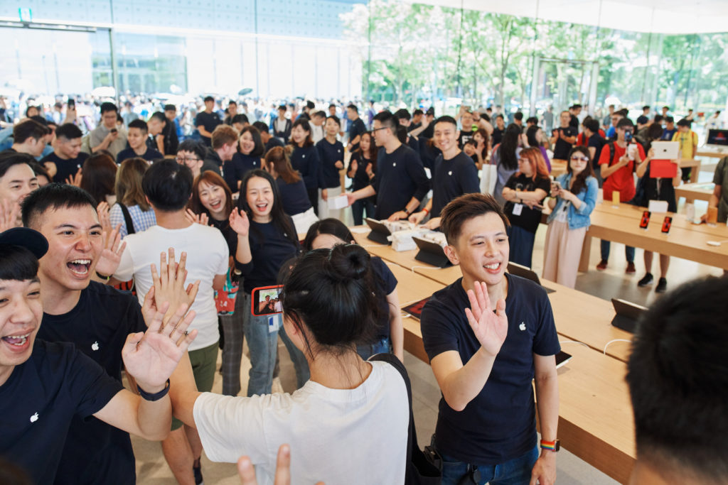 Apple Xinyi A13 Taipei Grand Openning 1