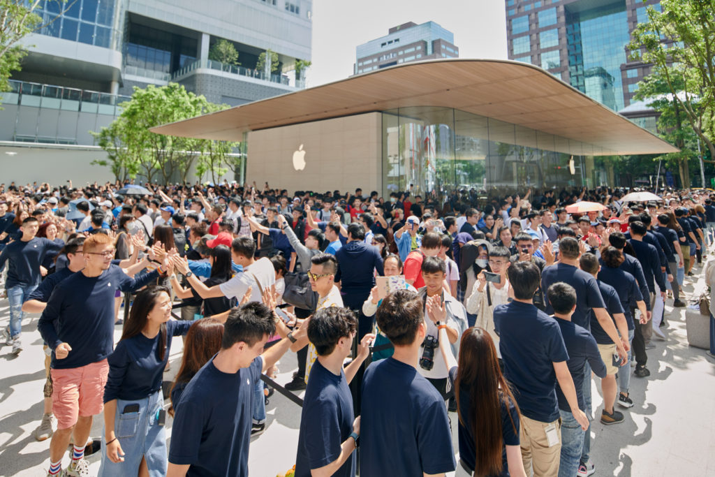 Apple Xinyi A13 Taipei Grand Openning 4