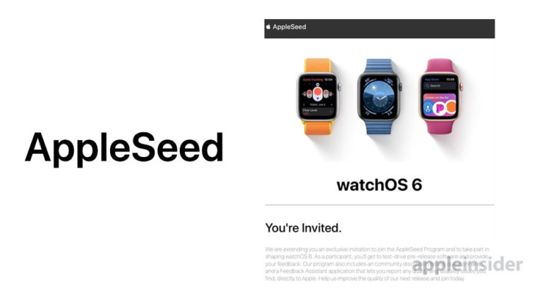 Appleseed Invitation Watchos 6 Beta Testing