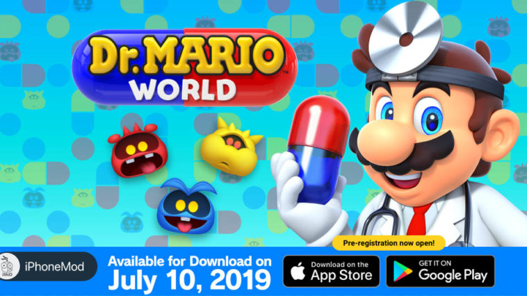 Dr Mario World Available 10 July Now Pre Register