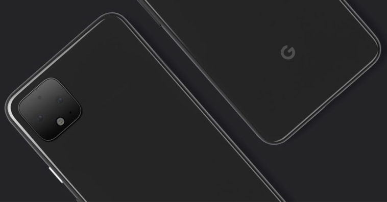 Google Posts Pixel 4 Image With Square Camera Bump
