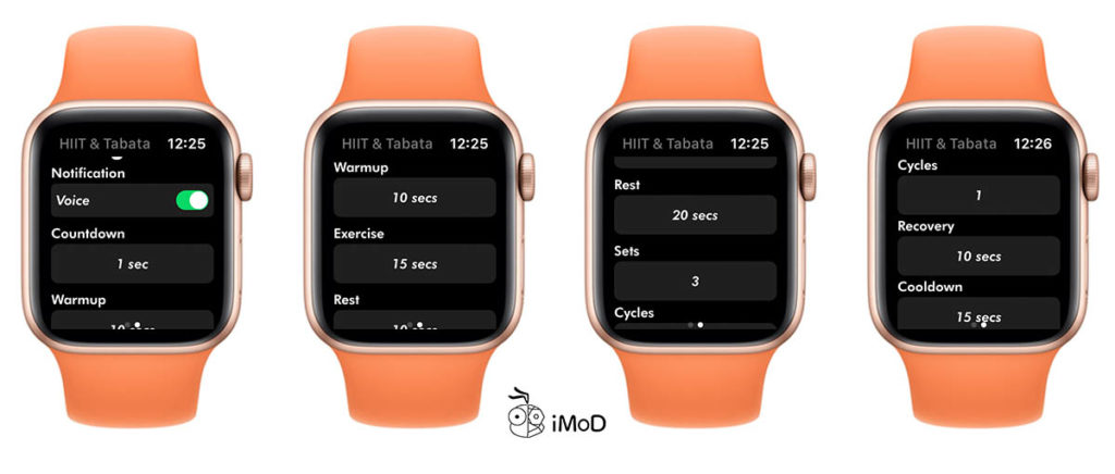 Hiit Exercise With Hiit And Tabata On Apple Watch 2