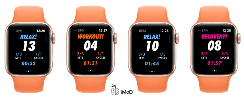 Hiit Exercise With Hiit And Tabata On Apple Watch 4