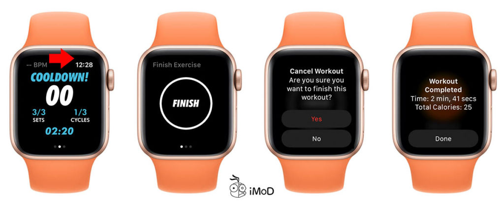 Hiit Exercise With Hiit And Tabata On Apple Watch 5