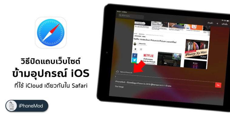How To Remote Close Safari Tab Iphone Ipad Same Icloud