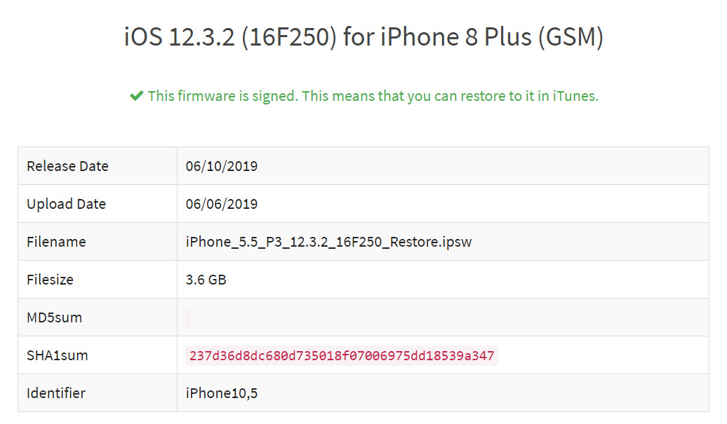 Ios 12 3 2 Rekeased For Iphone 8 Plus