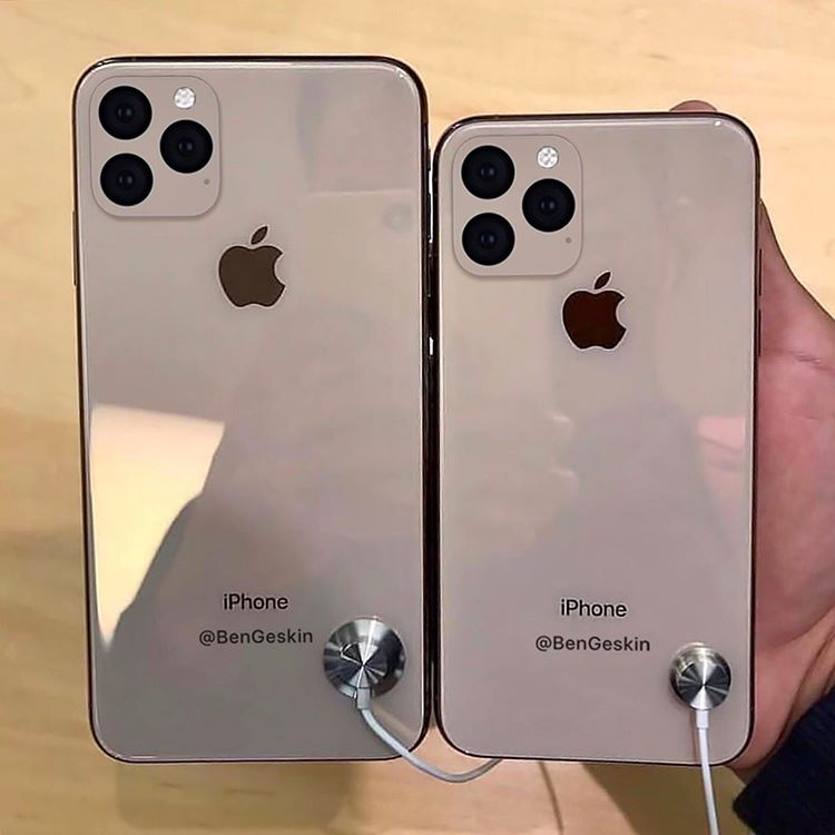 Iphone 11 And Iphone 11 Max Mockup By Ben Geskin Img 1