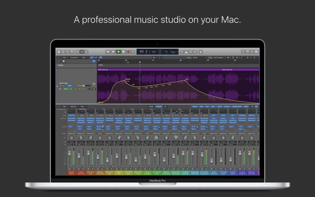 Logic X Pro 10 4 5 Update Support New Mac Pro 2