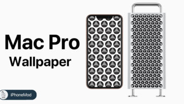 Macpro Inspired Wallpaper Cover
