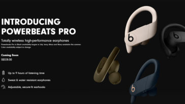 Powerbeats Pro July Release Date Europe Asia