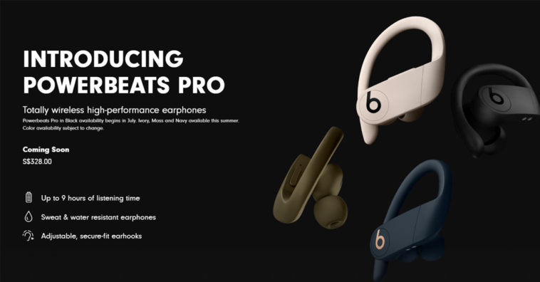 Powerbeats Pro July Release Date Europe Asia