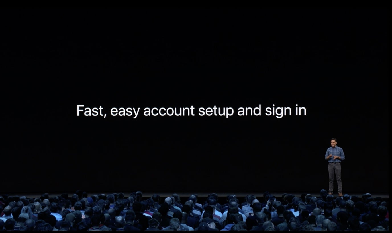 Sign In With Apple Fast Secure