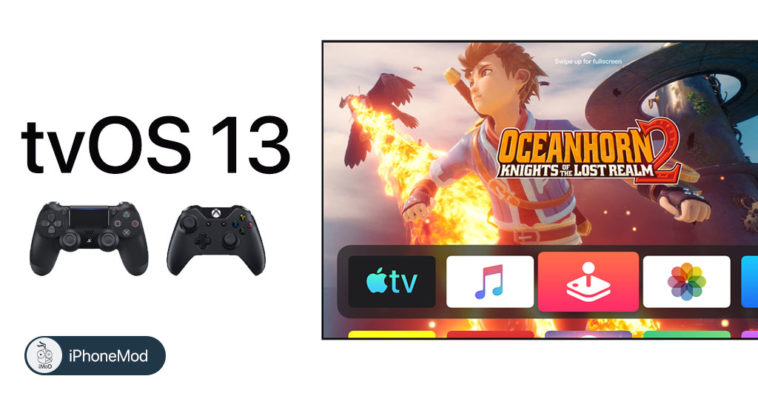Tvos 13 Support Ps4 Xbox Controller