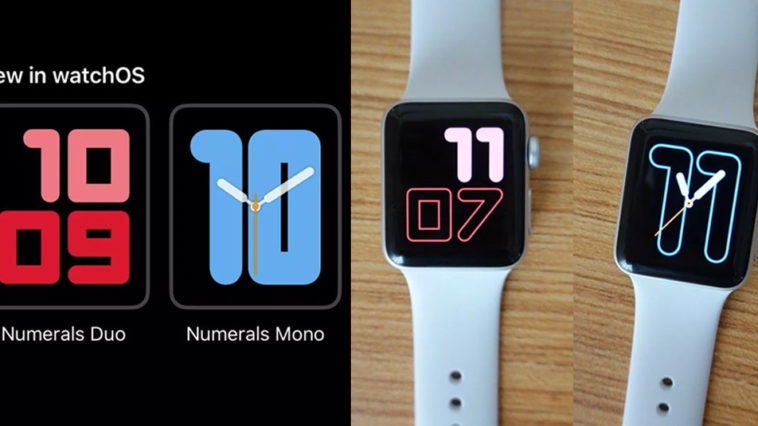 Watch Face Watchos 6 Apple Watch Support