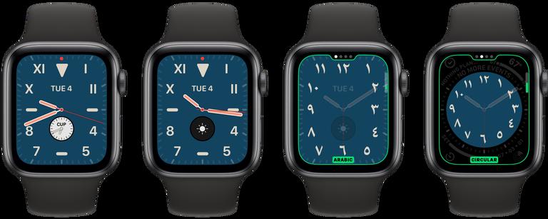 Watchos 6 New Apple Watch Face 1