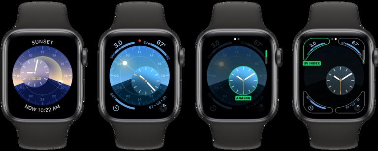 Watchos 6 New Apple Watch Face 4