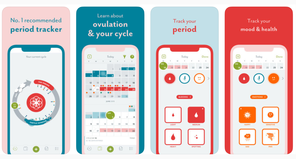 04 Clue Period Tracker, Fertility
