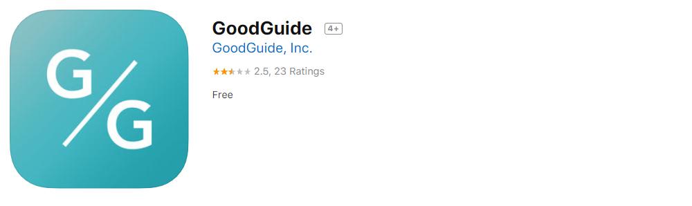 15 Goodguide