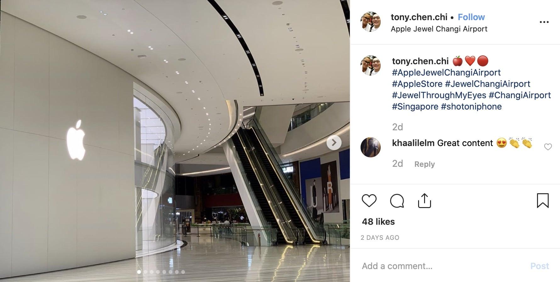 Apple Jewel Changi Airport 3