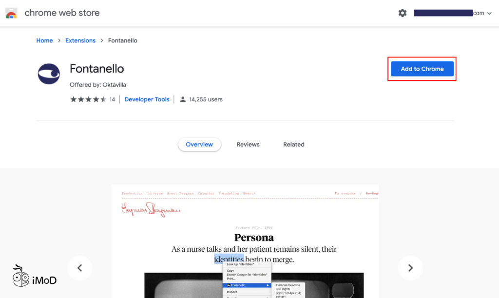 Check Font Element In Chrome Destop By Fontanello 1