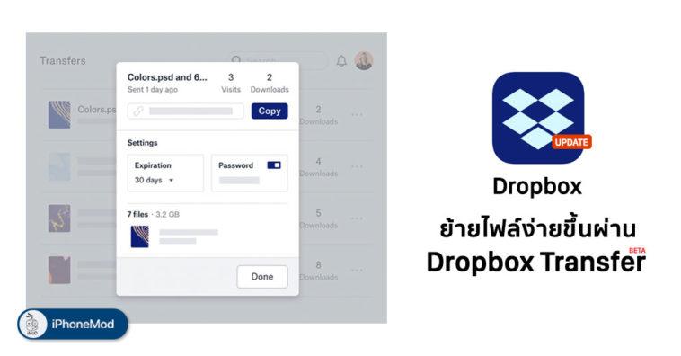 Dropbox Update Ios Add Dropbox Transfer Beta Cover