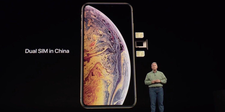 Dual Sim China Iphone Xs
