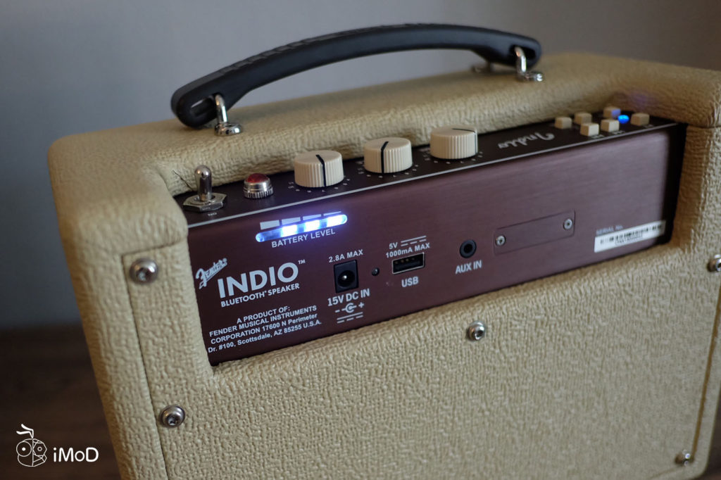 Fender Indio Bluetooth Speaker Review 10