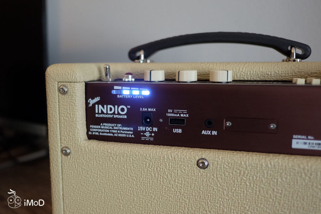 Fender Indio Bluetooth Speaker Review 5