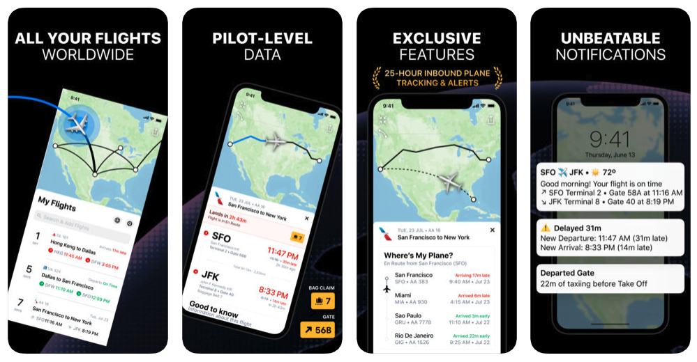 Flighty New App For Tracking Airplan Flight 1