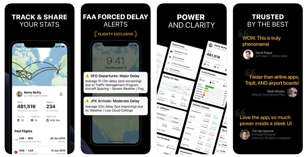 Flighty New App For Tracking Airplan Flight 2