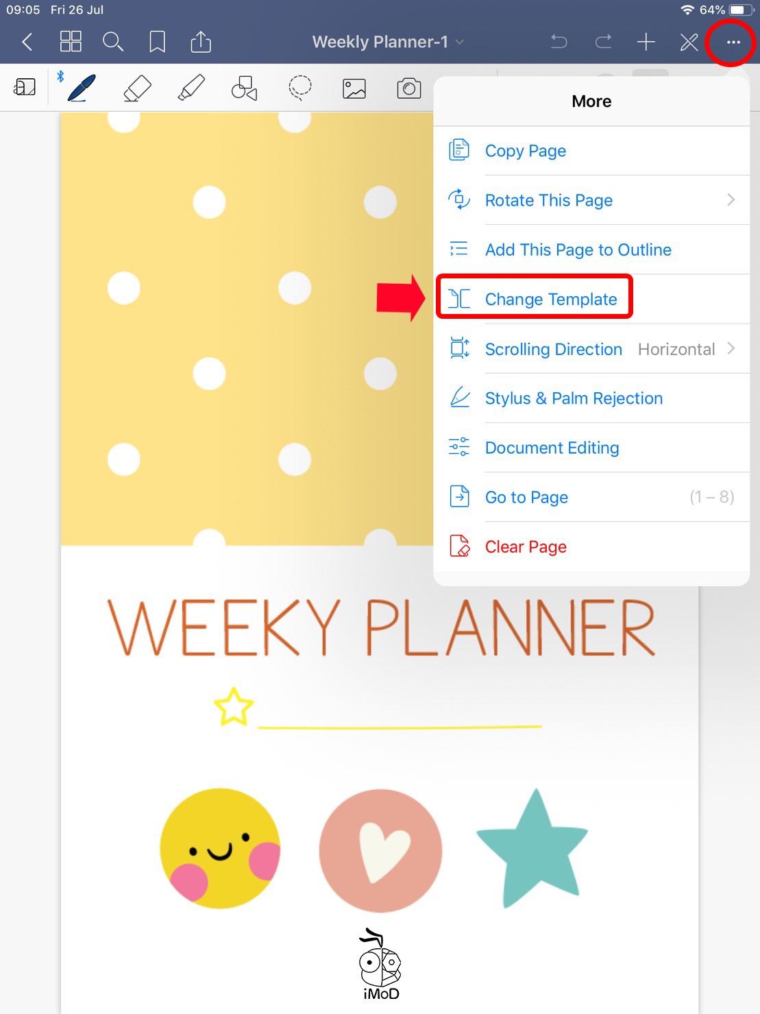 How To Change Cover Goodnotes 02