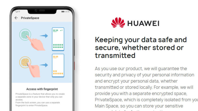 Huawei Privacy