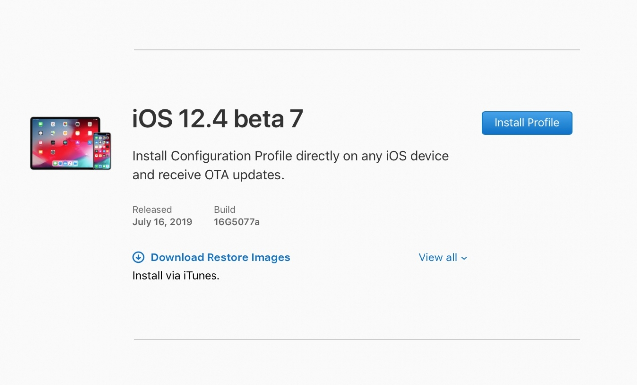 Ios 12 4 Developer Beta 7 Seed Img 1