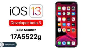 Ios 13 Developer Beta 3 New Build Number