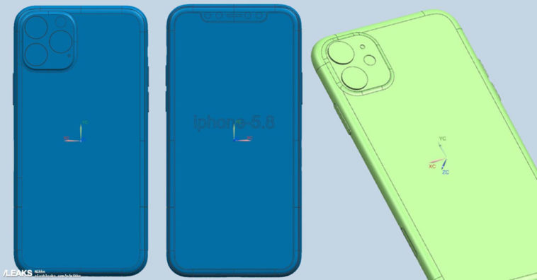 Iphone 2019 Cad Renders Image Leaks