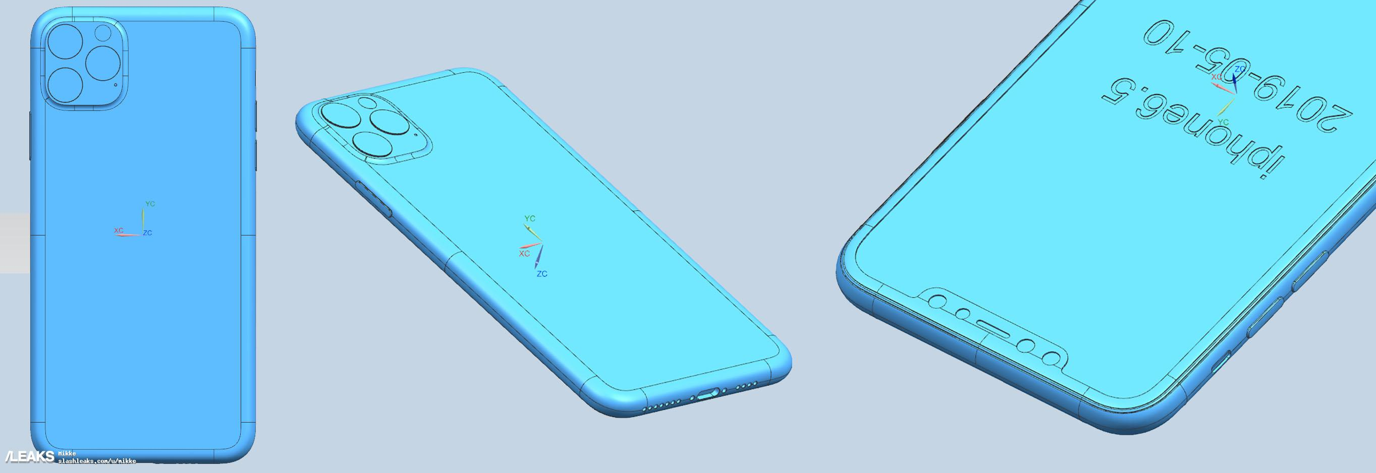 Iphone 2019 Cad Renders Image Leaks Img 2