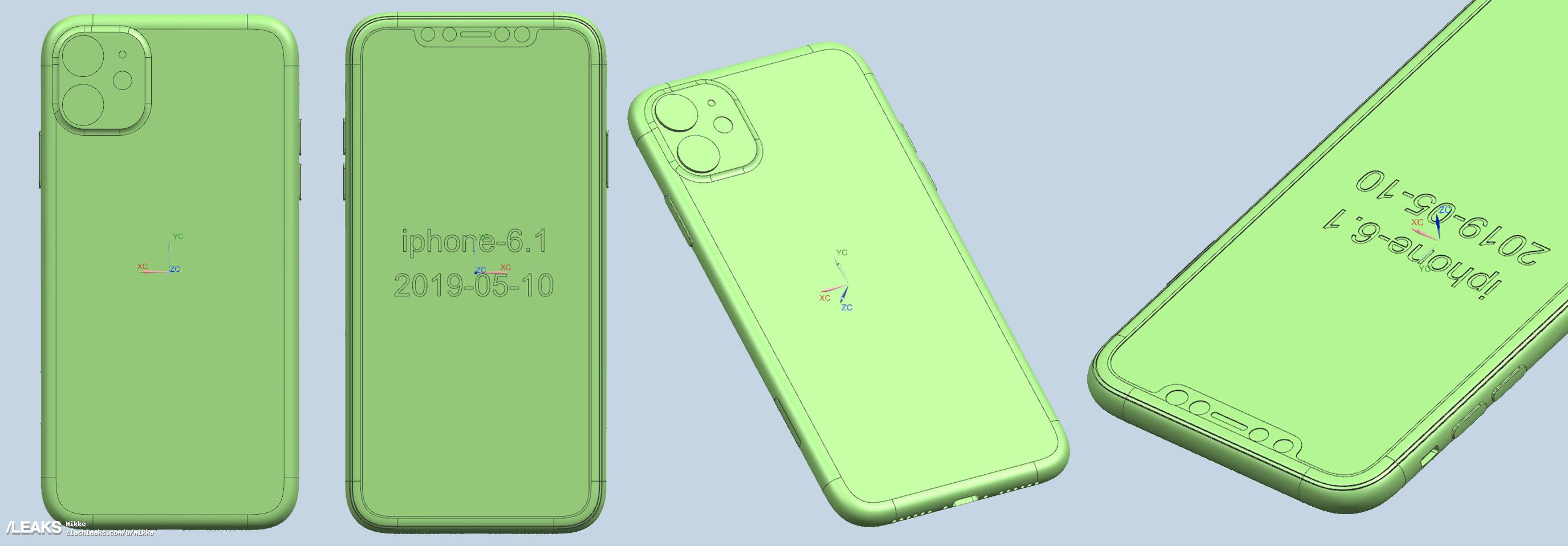 Iphone 2019 Cad Renders Image Leaks Img 3